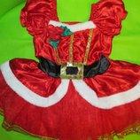 платье новогоднее 12-18 мес.