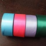 атлассные ленты,4 см