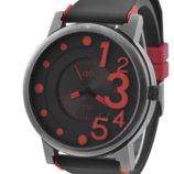 Часы наручные QF number red