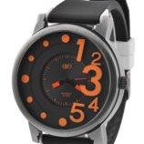 Часы наручные QF number orange