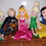 Мягкие игрушки куклы Динь Аврора Белоснежка Кристофер из мультфильма Дісней disney дисней.