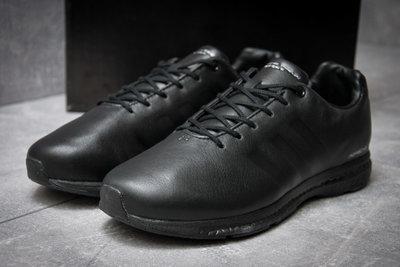 8f3836a1 Кроссовки кожаные мужские Adidas Porshe Design Sport, черные: 1340 ...