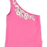 майка для девочки розовая LC Waikiki / Лс Вайкики на одно плече