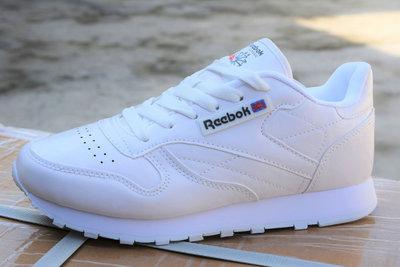e56bbe9703f2fa Мужские кроссовки reebok classic white рибок классик белые: 550 грн ...