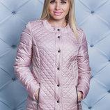 Куртка весна-осень женская карамель Размеры 42, 44, 46, 48-50, 52-54, 56-58 Состав куртка