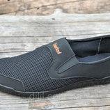 Туфли мокасины мужские летние