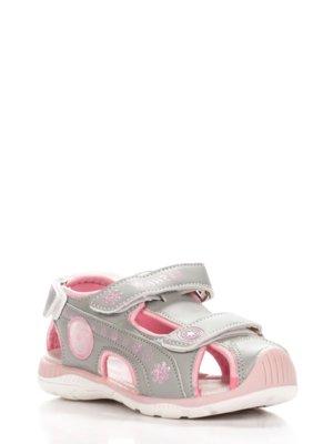 Босоножки для девочки Tом.м 26, 27, 29, 30, 31 р серый, розовый C-T12-74-D Спортивные босоножки дл