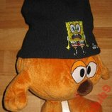 Теплая шапка Sponge Bob и шарф флис Германия