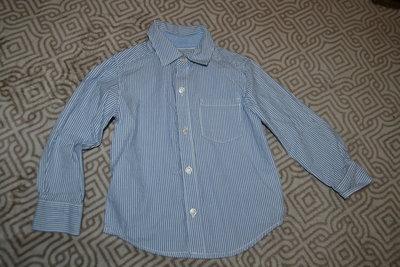 новая рубашка Carter's на 2 года рост 92 см хлопок Сша