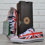 Кеды Converse All Star Chuck Taylor Union с британским флагом