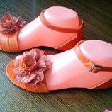 Рр 37-23,5 см стильные кожаные босоножки от roberto santi