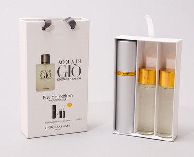 Мужскойй мини парфюм Armani Di Gio edt 3x15ml edt 3x15ml
