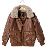 Модная демисезонная куртка C&A под кожу