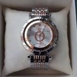 Часы женские Pandora с вращающимся циферблатом Пандора золото-серебро