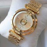 Часы женские Pandora с вращающимся циферблатом Пандора золото