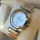 Часы женские Pandora с вращающимся циферблатом Пандора серебро
