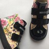 Ортопедические ботиночки для девочки фирмы Минимен.