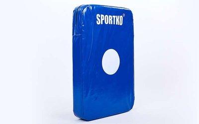 Макивара прямая Sportko M3 размер 60x40x8,5см, PVC
