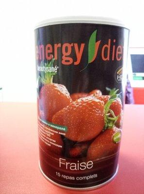-10% Коктейль Energy Diet со вкусом клубники, 450 г 15 порций нл nl