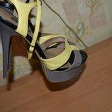 Босоножки кожаные, босоножки на высоком каблуке, босоножки на шпильке, босоножки