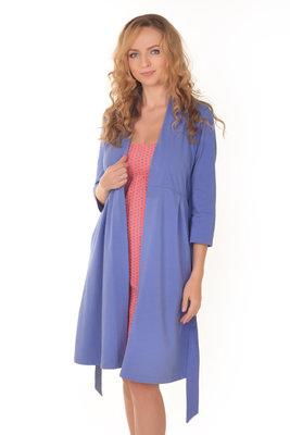 Набор халат ночнушка для беременных и кормящих мам. Комплект для вагітних 500b5974067