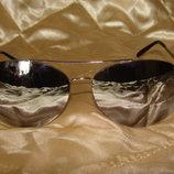 очки Ray-Ban Carbon зеркальные Louis Vuitton Burberry Gucci