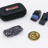 Свисток судейский пластиковый FOX40 6906 набор из 3 свистков с чехлом
