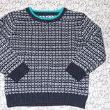 свитер мальчику кофта вязка 3 - 4 года Ребел большой выбор одежды 1-16лет