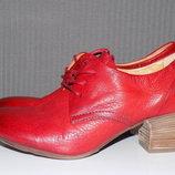 Кожаные стильные женские туфли 39 р A.S.98 Тренд Весна 2018