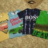 Футболка футболки для мальчика р.122-128