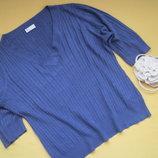 Большой размер,нежная мягенькая кофточка,свитер BHS,р.20,отличное состояние