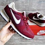 Кроссовки женские Nike burgundy