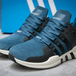 Кроссовки мужские Adidas EQT ADV/91-16,замша,синие