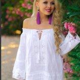Пляжная туника из хлопка Indiano, Fresh-cotton , M L XL 2XL