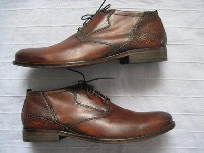 Daniel Hechter 45 кожаные ботинки мужские
