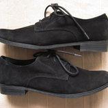 Roberto Santi 40 замшевые туфли дерби женские