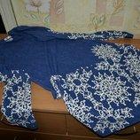 Платье до колена, классическое платье, платье с длинным рукавом, нарядное платье, синее платье
