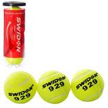 Мяч для большого тенниса Swdon 1178 3 мяча в комплекте тренировочные
