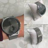 Наручные часы Calvin Klein, CK, Кельвин Кляйн Silver-Black