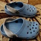 Сандали, летние тапочки, шлепки, кроксы Croks стелька 13,5 см