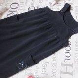 Платье сарафан трикотажный marks &spencer для девочки 4 лет