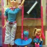 Кукла-Учитель с аксессуарами и с ученицей Каibibi BLD130