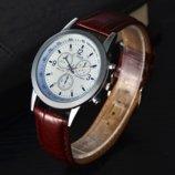 Часы наручные мужские Franko brown-white