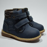 Качественные Демисезонные ботинки для мальчика Bessky с р р 23, 28