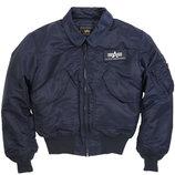 Летная куртка CWU 45/P Flight Jacket синяя