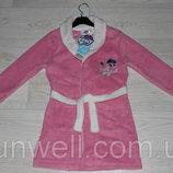 Детский халат для девочек My little pony, 3-8лет