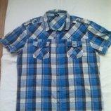 Рубашка с пагонами р.L.