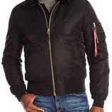Куртка B-15 Slim Fit Alpha Industries черная