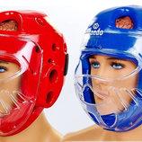 Шлем для тхэквондо с пластиковой маской Daedo 5490 2 цвета, размер S-L
