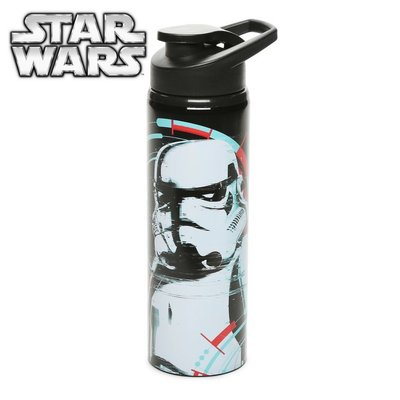 Питьевая спортивная детская взрослая бутылка нержавеющая сталь Star Wars Disney Здвездные Войны